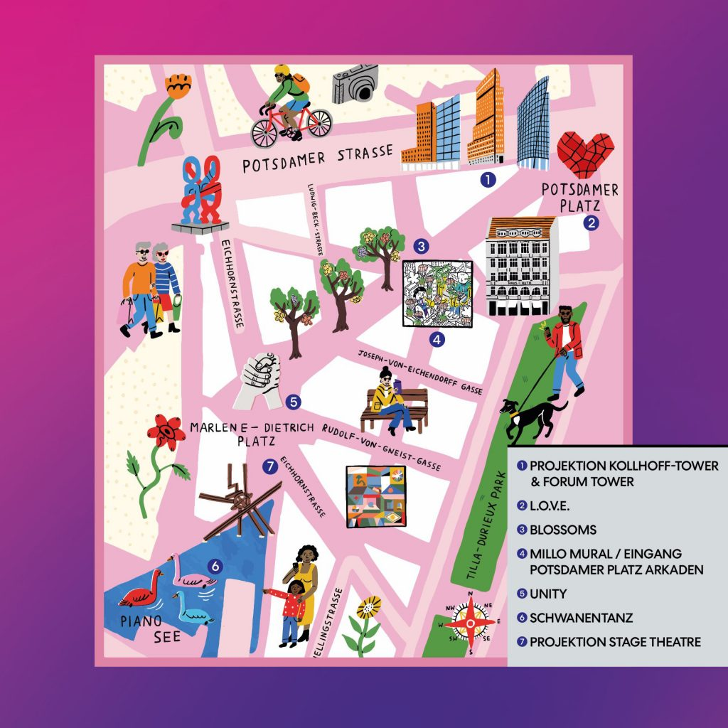 Festival of Lights Map DE
